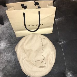 Burberry women's cabbie hat
